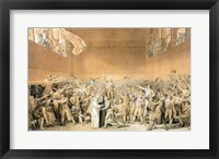Framed Tennis Court Oath, 20th June 1789