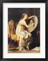 Framed Portrait of Rose Adelaide Ducreux