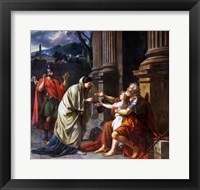 Framed Belisarius Begging for Alms, 1781