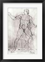 Framed Colossus of Monte Cavallo