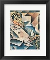 Framed Portrait of Pablo Picasso