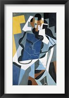 Framed Figure of a Woman, 1917