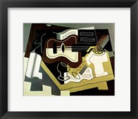 Framed Guitar and Clarinet, 1920