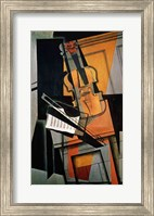 Framed Violin, 1916
