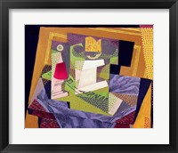 Framed Composition on a Table, 1916