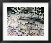 Framed Illustrations of the Book of Job; Job's Evil Dreams