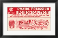 Framed Cyanide Potassium