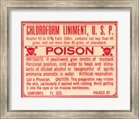 Framed Chloroform