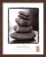 Framed Balance - Rocks
