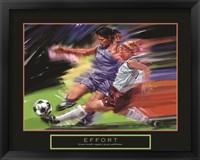 Framed Effort - Soccer