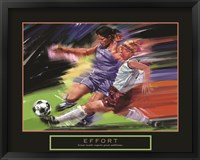 Framed Effort - Soccer