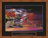 Framed Goals - Hockey