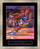 Framed Victory - Basketball