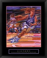 Framed Victory - Basketball