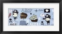 Framed Ahoy Matey I