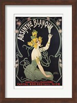 Framed Absinthe Blanqui