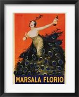 Framed Marsala Florio