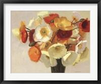 Framed November Poppies
