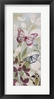 Framed Fluttering Panel I
