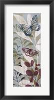 Framed Fluttering Panel II