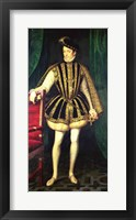 Framed King Charles IX of France
