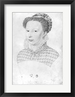 Framed Marguerite of Valois