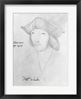 Charles de Bourbon Framed Print