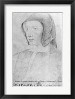 Louise de Savoie Framed Print
