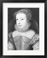 Framed Marguerite de Valois Queen of Navarre
