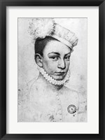 Framed Portrait of King Charles IX of France, 1561