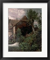 Framed Watermill at Gillingham, Dorset