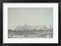Framed Windsor Castle from the River, 19th century