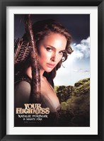 Framed Your Highness - Natalie Portman