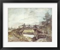 Framed Bridge Over the Stour