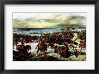 Framed Death of Charles the Bold at the Battle of Nancy