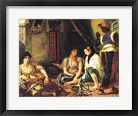 Framed Women of Algiers in their Apartment, 1834