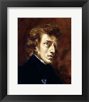 Framed Frederic Chopin