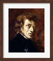 Framed Frederic Chopin