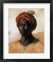 Framed Portrait of a Turk in a Turban, c.1826