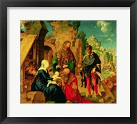 Framed Adoration of the Magi, 1504
