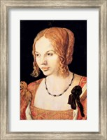 Framed Young Venetian Woman