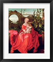 Framed Virgin and Child 'Madonna with the Iris', 1508