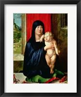 Framed Madonna and Child 3