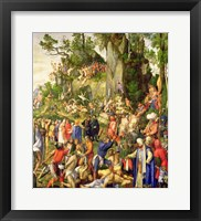 Framed Martyrdom of the Ten Thousand, 1508