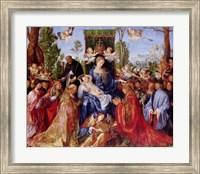 Framed Festival of the Rosary, 1506