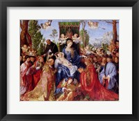 Framed Festival of the Rosary, 1506