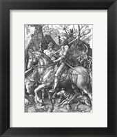 Framed Knight, Death and the Devil, 1513