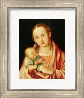 Framed Mary and her Child