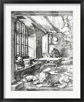 Framed St. Jerome in his Study, 1514