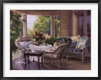 Framed Summer Porch